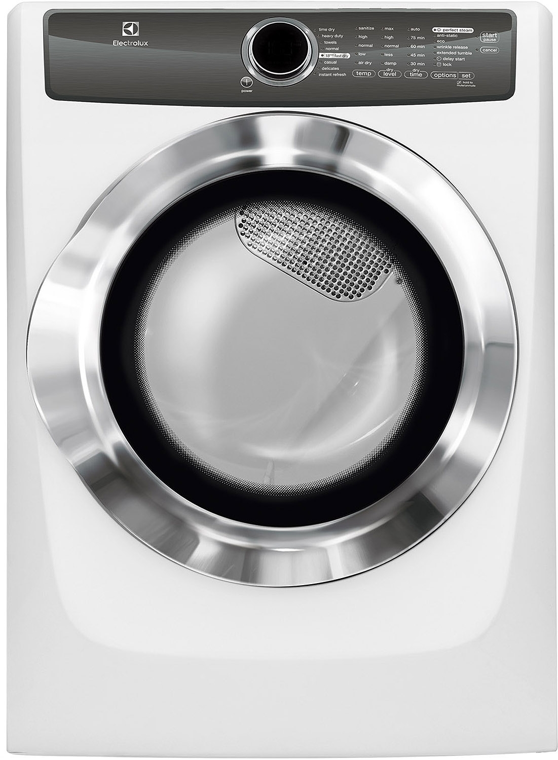 Electrolux island white electric steam dryer efme517siw electrolux efme517siw electric dryers sciox Choice Image