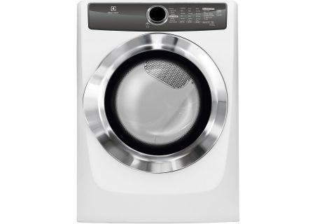Electrolux Island White Electric Steam Dryer - EFME517SIW