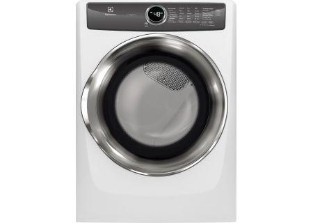 Electrolux Island White Gas Steam Dryer - EFMG527UIW