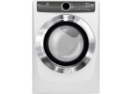 Electrolux Island White Electric Steam Dryer Efme617siw