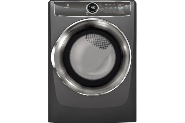 Large image of Electrolux Titanium Gas Steam Dryer - EFMG627UTT