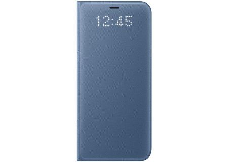 Samsung Galaxy S8 Blue LED Wallet Cover - EF-NG950PLEGUS