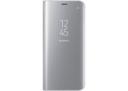 Samsung Galaxy S8 Silver S-View Flip Cover - EF-ZG950CSEGUS