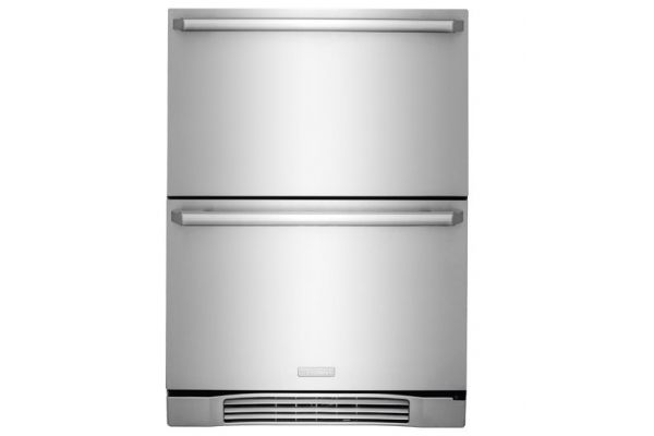"""Electrolux 24"""" Stainless Steel Undercounter Refrigerator Drawers  - EI24RD10QS"""
