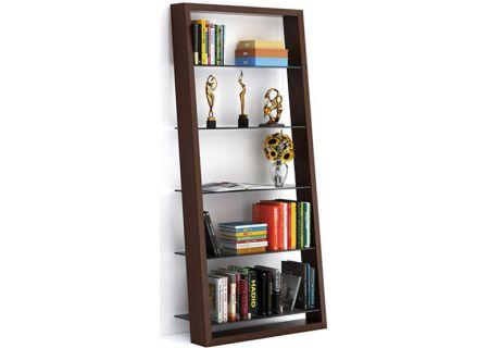 BDI Eileen 5156 Chocolate Walnut Bookshelf - EILEEN5156CWL