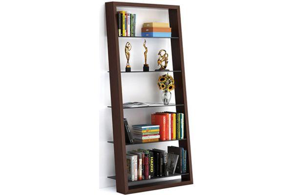 Large image of BDI Eileen 5156 Chocolate Walnut Bookshelf - EILEEN5156CWL