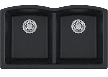 Franke Ellipse Fragranite Onyx Double Bowl Sink - ELG120ONY