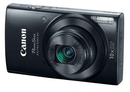 Canon PowerShot ELPH 190 IS 20 Megapixel Black Digital Camera  - 1084C001