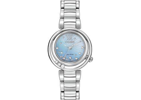 Citizen Eco-Drive Diamond Womens Watch - EM0320-59D