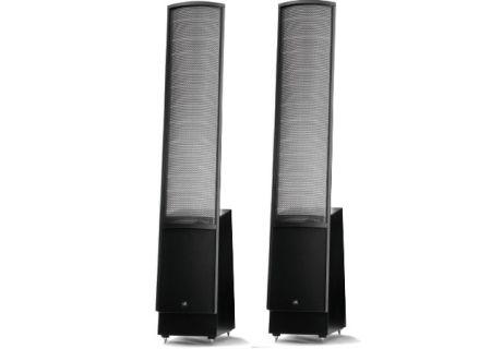 MartinLogan Black Floor Upright Stereo Speakers - EMESLD