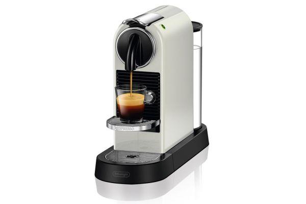 Large image of Nespresso CitiZ White Espresso Machine  - EN167W