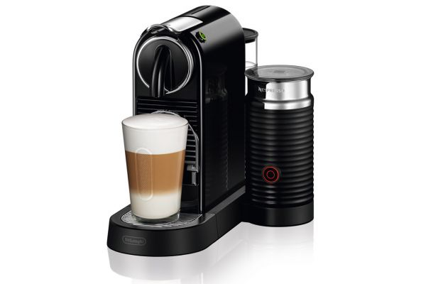 Large image of Nespresso CitiZ & Milk Black Espresso Machine - EN267BAE