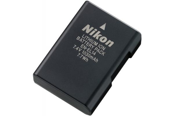 Large image of Nikon EN-EL14 Rechargeable Li-ion Battery - 27017