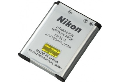 Nikon - EN-EL19 - Digital Camera Batteries and Chargers