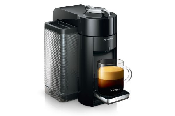 Large image of Nespresso Black Evoluo Espresso Machine - ENV135B