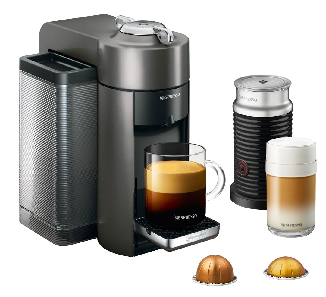 Coffee Maker Big W : Nespresso Vertuo Evoluo Milk Espresso Machine - ENV135GYAE
