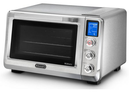 DeLonghi Livenza Stainless Steel Digital True Convection Oven - EO 241250M