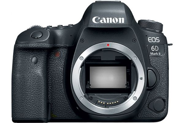 Canon EOS 6D Mark II Camera Body - 1897C002