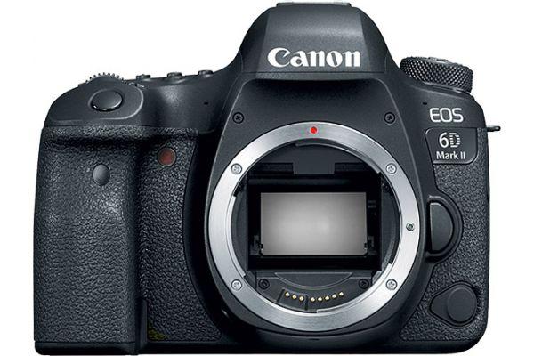 Large image of Canon EOS 6D Mark II Camera Body - 1897C002