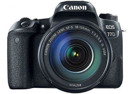 Canon EOS 77D DSLR Camera With 18-135mm Lens - 1892C002
