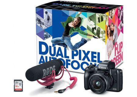Canon EOS M50 Mirrorless Digital Camera Video Creator Kit - 2680C067