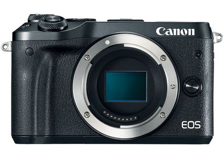 Canon EOS M6 Mirrorless Digital Camera Body - 1724C001
