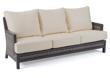 Elements by Castelle Bayside Collection Cast Ash Sofa - EQW1B11NG31WB01F66B