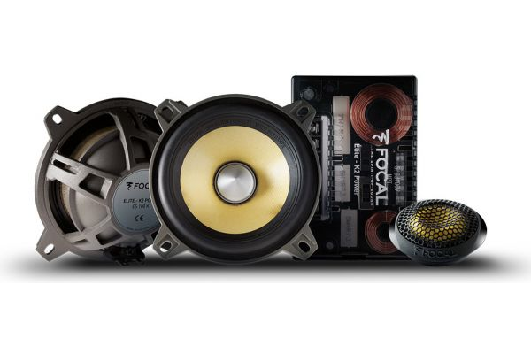 "Large image of Focal K2 Power 4"" 2-Way Component Kit (Pair) - ES100K"