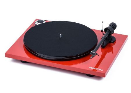 Pro-Ject Essential III Red Gloss Turntable - ESSENTIALIIIHGRED
