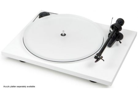 Pro-Ject Essential II White Turntable - ESSENTIALIIWHT