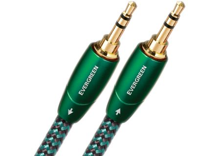 AudioQuest 0.6 Meter (1.96 Feet) Evergreen Interconnect Cable - EVERGREEN35235POINT6M