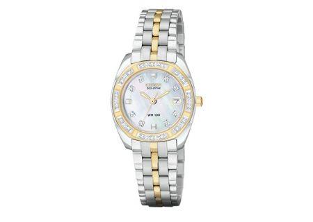 Citizen Eco-Drive Diamond Womens Watch - EW159455D