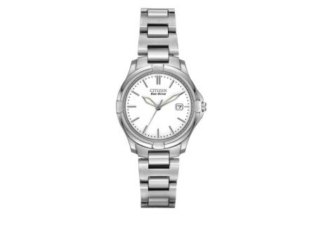 Citizen Eco-Drive Silver-Tone Womens Watch - EW1960-59A