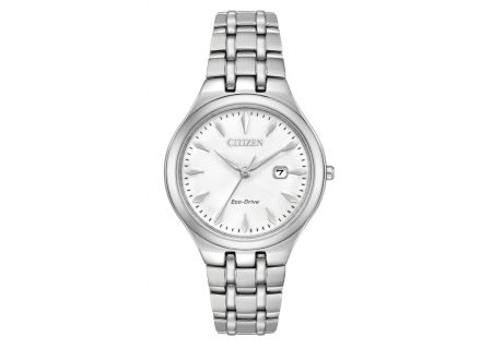 Citizen Eco-Drive Corso Stainless Steel Womens Watch  - EW2490-55A