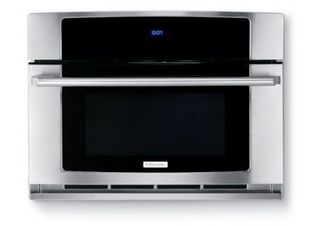 """Electrolux 30"""" Built-In Stainless Steel Convection Microwave Oven With Drop-Down Door - EW30SO60QS"""