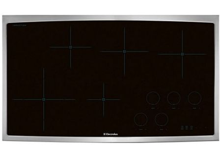 "Electrolux 36"" Stainless Steel Electric Induction Cooktop - EW36IC60LS"
