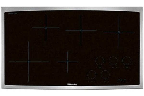 """Large image of Electrolux 36"""" Stainless Steel Electric Induction Cooktop - EW36IC60LS"""