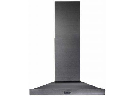 """Broan 30"""" 500 CFM Black Stainless Steel Chimney Range Hood - EW5430BLS"""