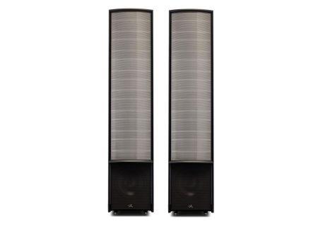 MartinLogan Expression ESL 13A Gloss Black Floorstanding Speakers - EXPRES13AGBK