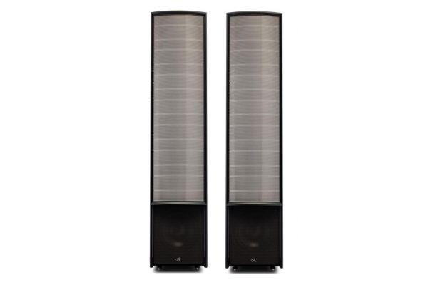 Large image of MartinLogan Expression ESL 13A Gloss Black Floorstanding Speakers (Pair) - EXPRES13AGBK