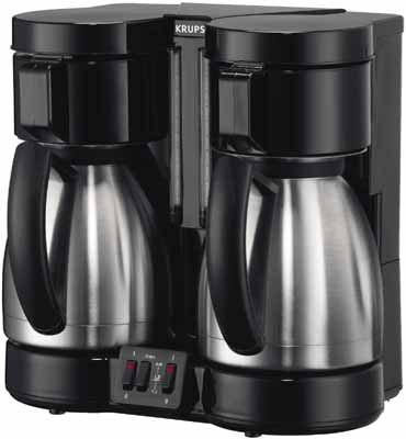 dual carafe coffee machine