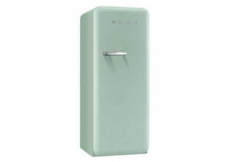 Smeg 50s Retro Style Aesthetic Right Hand Pastel Green Refrigerator  - FAB28UPGR1