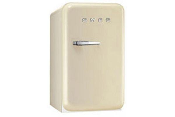 Smeg 50s Retro Style Mini Cream Refrigerator - FAB5URP