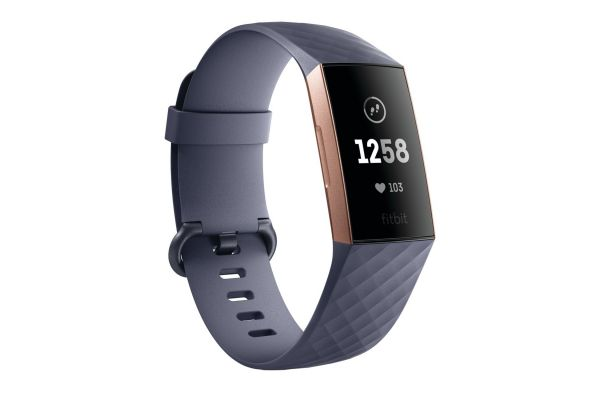 Fitbit Charge 3 Blue Gray Advanced Fitness Tracker - FB409RGGY