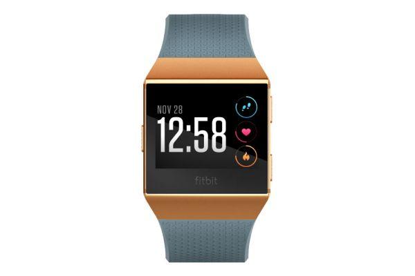 Fitbit Ionic Slate Blue And Brunt Orange Fitness Watch - FB503CPBU