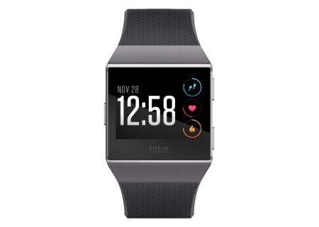 Fitbit Ionic Charcoal And Smoke Gray Fitness Watch - FB503GYBK
