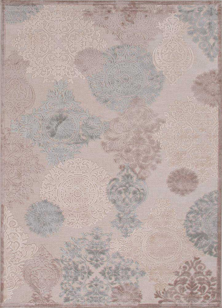 Jaipur Living Gray And Barely Blue Area Rug Fb97 5x8