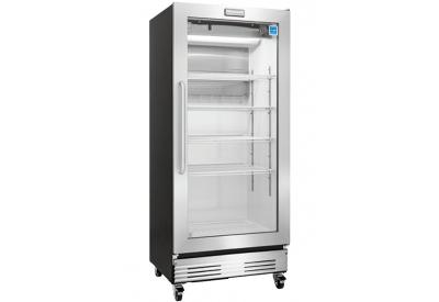 Frigidaire Commercial Stainless Steel Freezerless Glass Door Refrigerator - FCGM181RQB