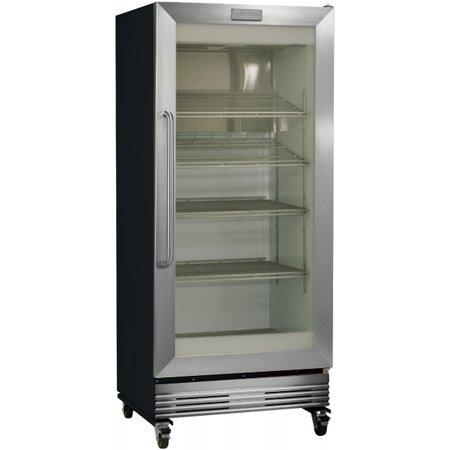 Frigidaire Stainless Glass Door Refrigerator Fcgm201rfb