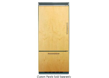 "Viking Professional 5 Series 36"" Custom Panel Bottom Freezer Refrigerator  - FDBB5363EL"